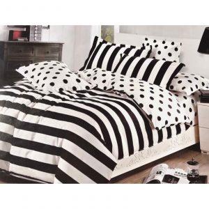 Classic Polka & Stripes 6 in 1 Bedding Set