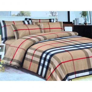 Classic 6 in 1 Burberry Bedding Set