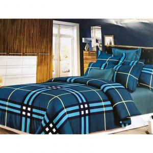 Purissima Blue 6 piece Bedding set