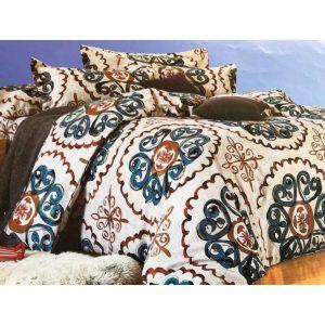 Multi Print 6 in 1 Bedding Set