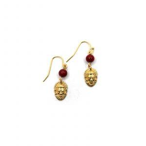 Idia Coral Earring